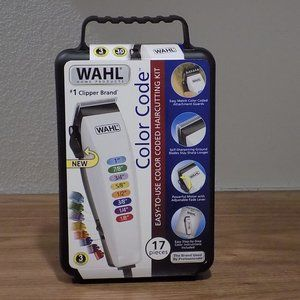 WAHL Color Code 17 Piece Complete Haircutting Kit